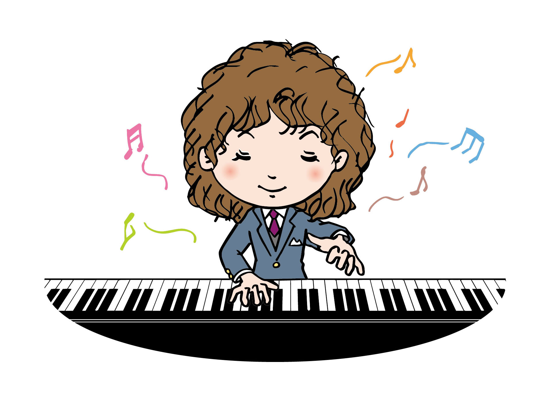 ADHDの性質によるプラス面とマイナス面。ピアノコンクール優勝など